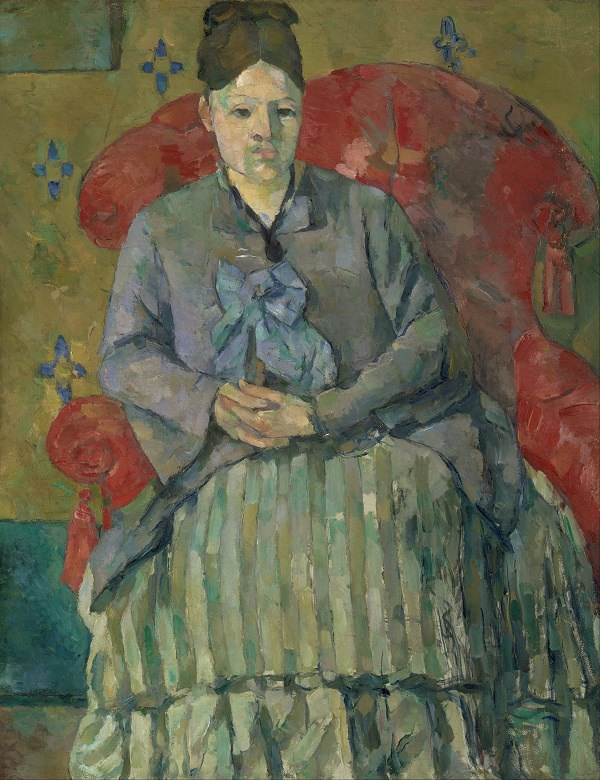 Madame Cezanne in a Red Armchair, 1877 by Paul Cezanne