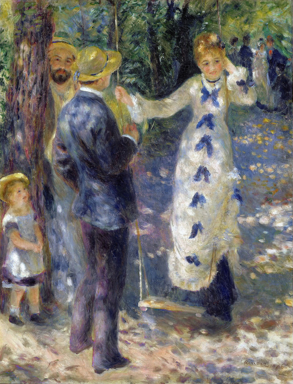 The Swing - by Renoir